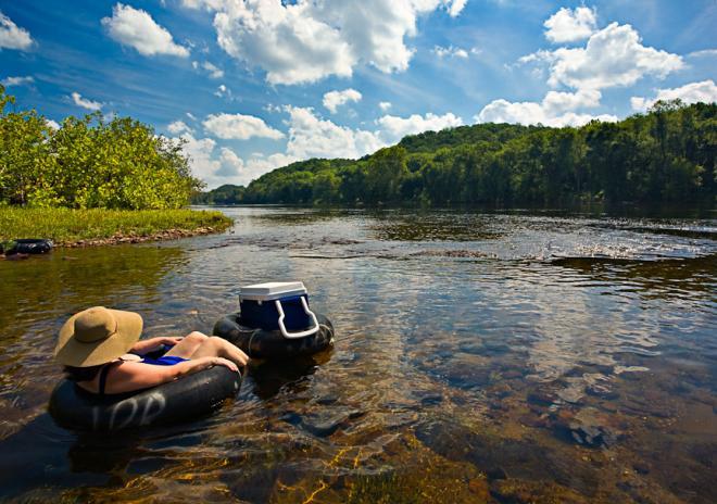 Charlottesville - River Tubing