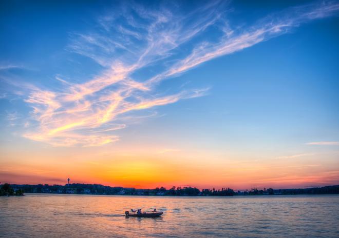 Smith Mountain Lake Boat