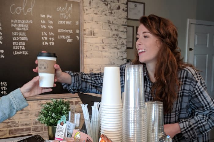Brick+Mortar Boutique and Coffeehouse