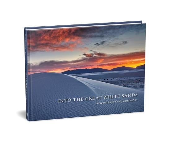 Into the Great White Sands. Photographs by Craig Varjabedian.