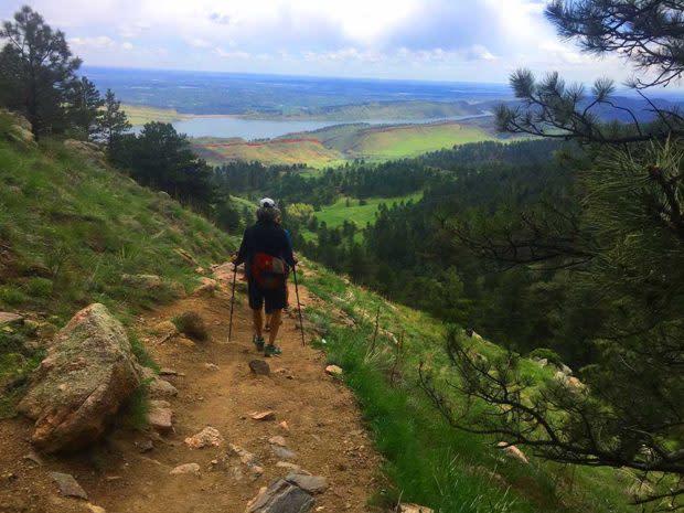 Arthurs Rock hike
