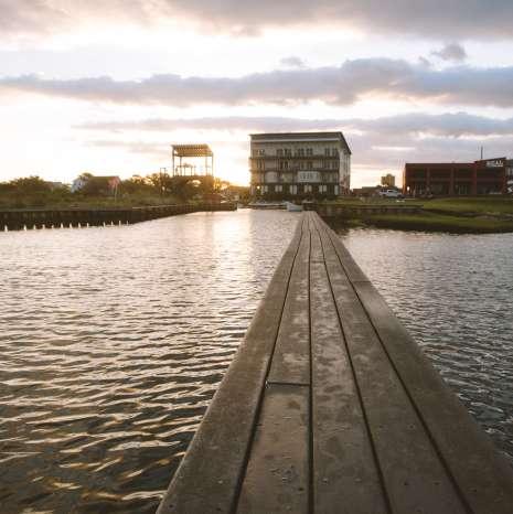Dock to Beach