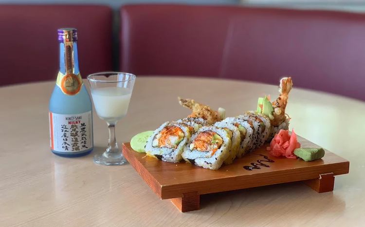 Sushi and Sake at Akai Hana Restaurant, Carrboro