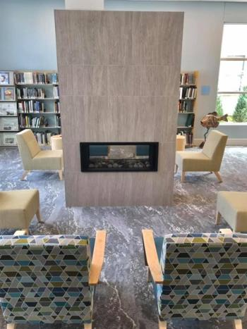 New Eye-Catching Details at the Glen Lake Library