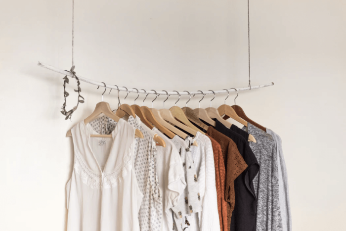 Etty Collection Hanging Clothing Rack