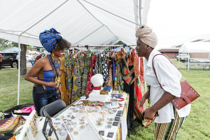 Craft table at IgboFest