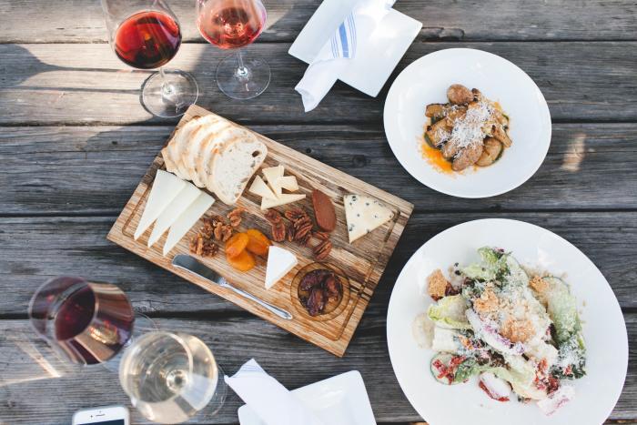 Carmel Valley Folktale Winery Food