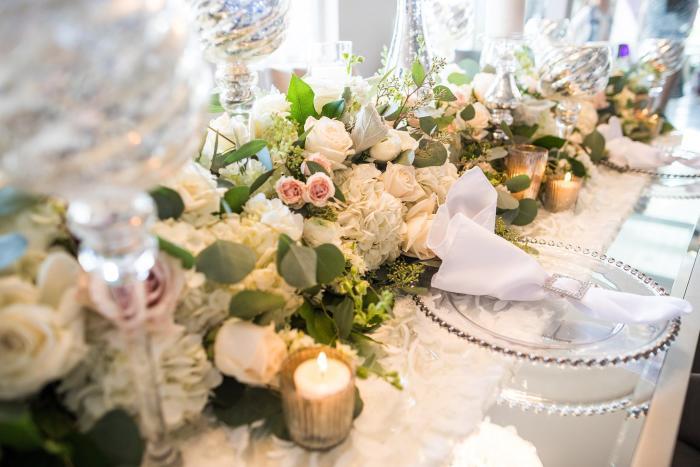 Event Floral tablescape