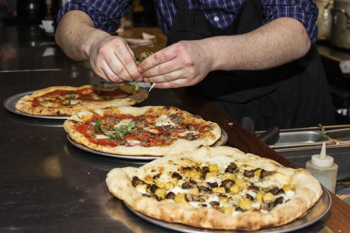 Bloomington-Normal pizza