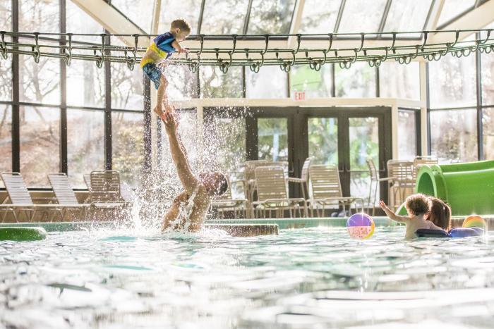 Pool at Grand Traverse Resort and Spa