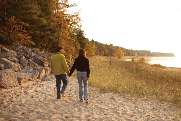 Old Mission Peninsula Fall Walkers