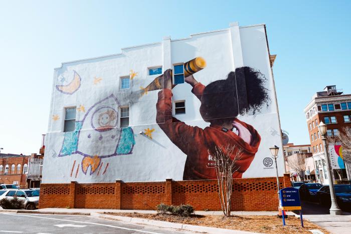 Dreamer Mural