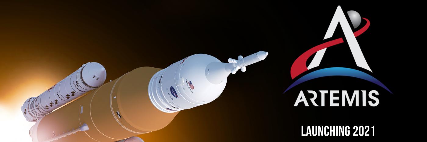 Artemis header - SLS