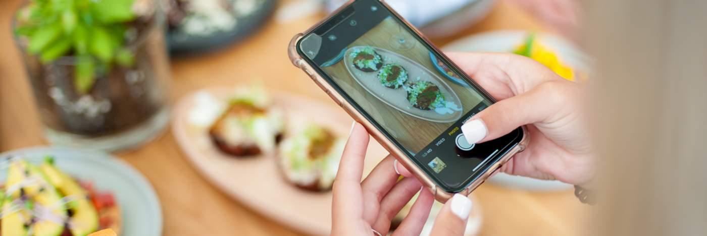 Restaurant Week cell phone photo