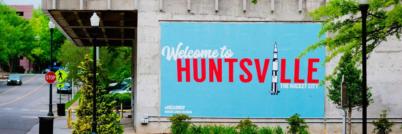 Welcome to Huntsville mural - crop