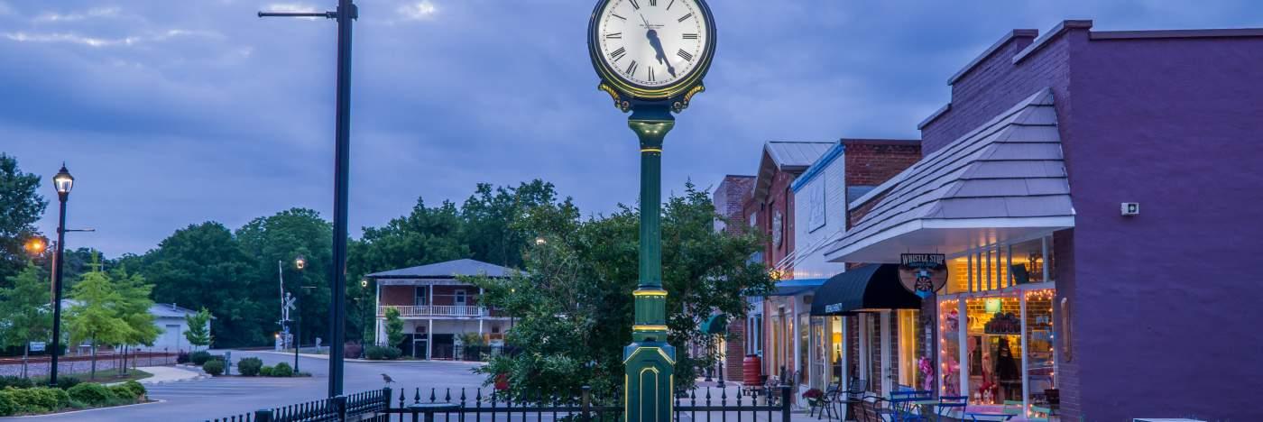 Madison Alabama Downtown Madison Alabama Madison Clock