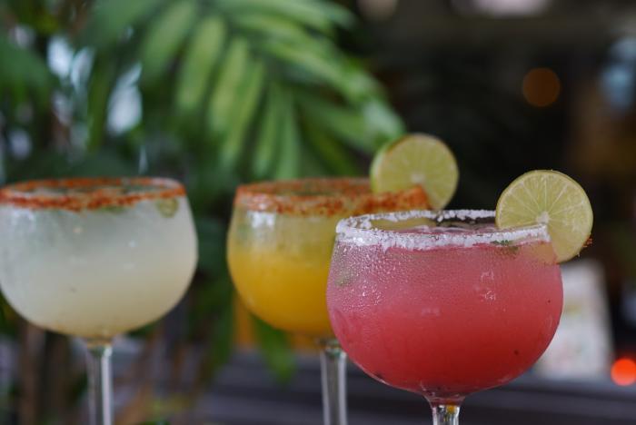 Cha Cha's Latin Kitchen Margaritas