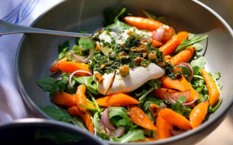 Salad from Rat's Restaurant in Hamilton, NJ.