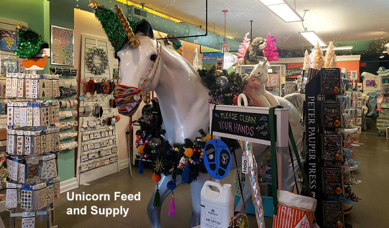 Unicorn Feed and Supply store interior