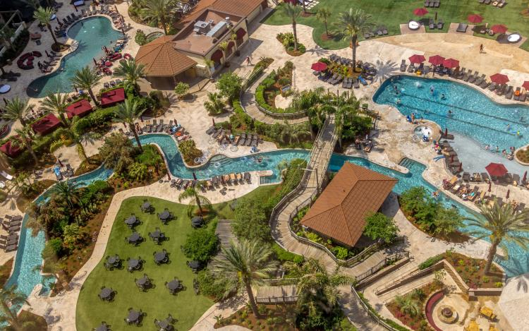 L'Auberge Casino Resort pool