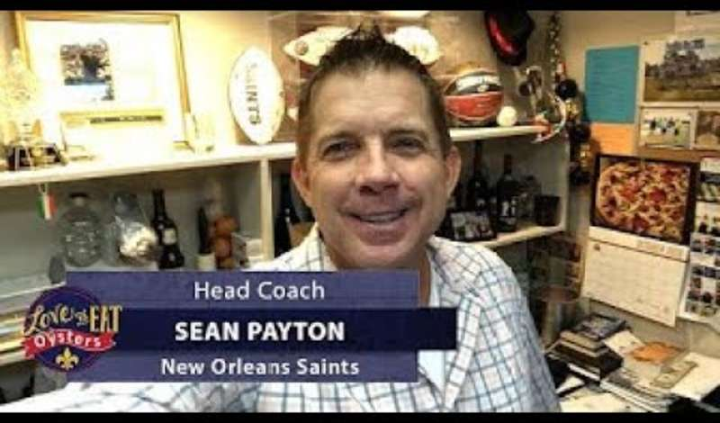 Oyster Episode - New Orleans Saints Sean Peyton