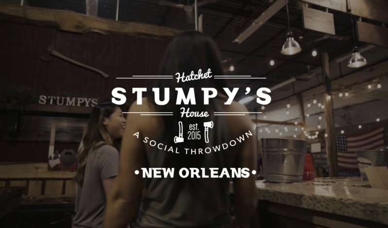 Stumpy's Hatchet House New Orleans Promotional Video