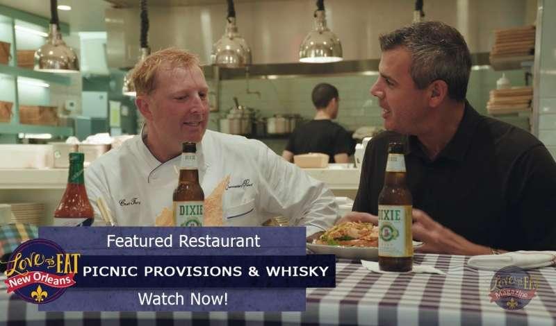 Magazine Street Episode - Picnic Provisions & Whiskey