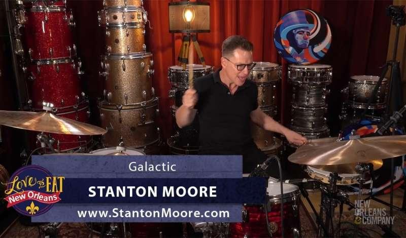 Seafood Poboy Episode - Stanton Moore of Galactic Opener