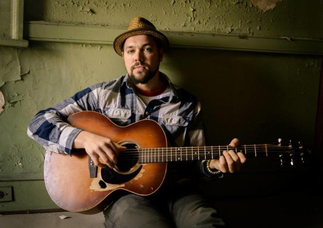 Musician Jordan Sokel of Pressing Strings.