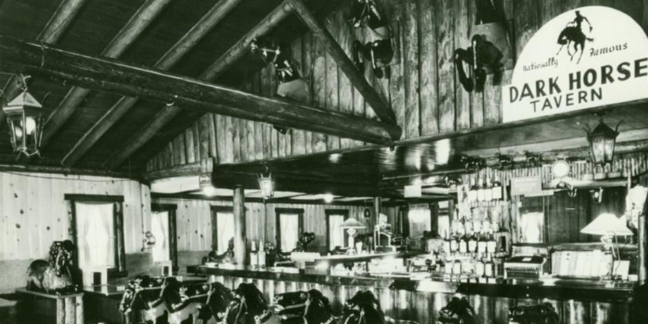 Old photo of Estes Park tavern