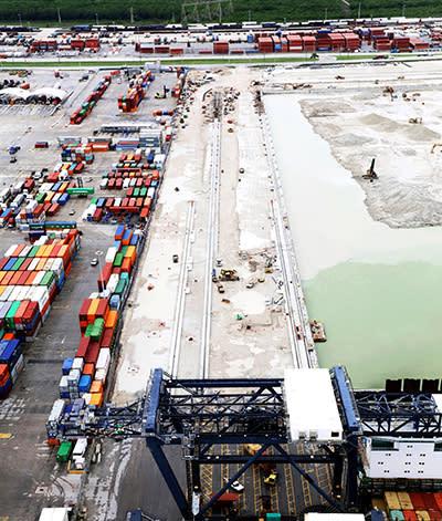 Crane Rail Improvement Project