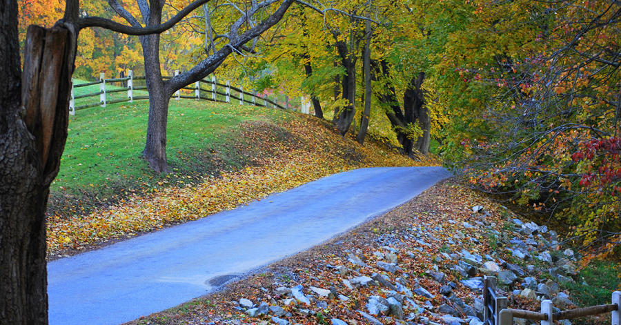 Fall at Brandywine Valley national Scenic Byway