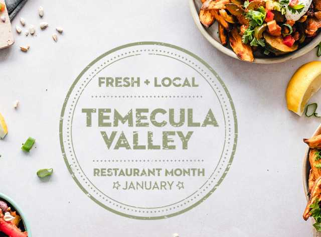 Temecula Valley Restaurant Month Participating Restaurants