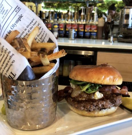 Burger from Childer's Eatery