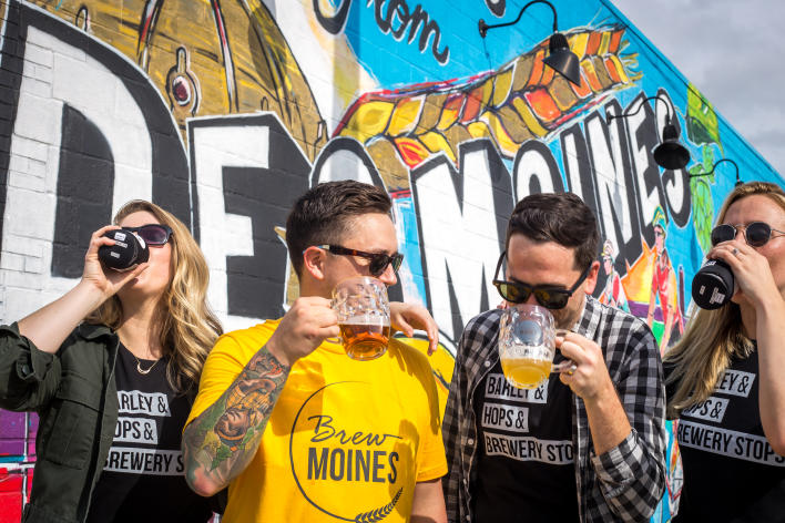 Brew Moines Photoshoot