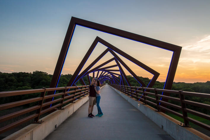 Catch Des Moines - High Trestle Trail Bridge