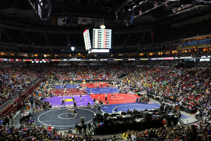 Catch Des Moines - State Wrestling at Wells Fargo Arena