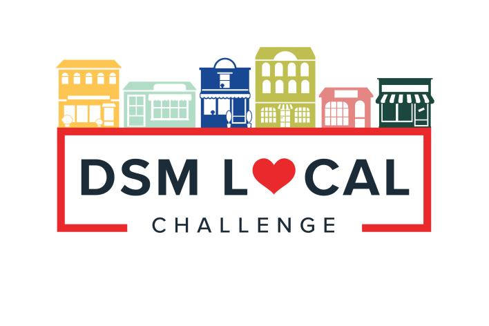 Catch Des Moines - DSM Local Challenge Logo