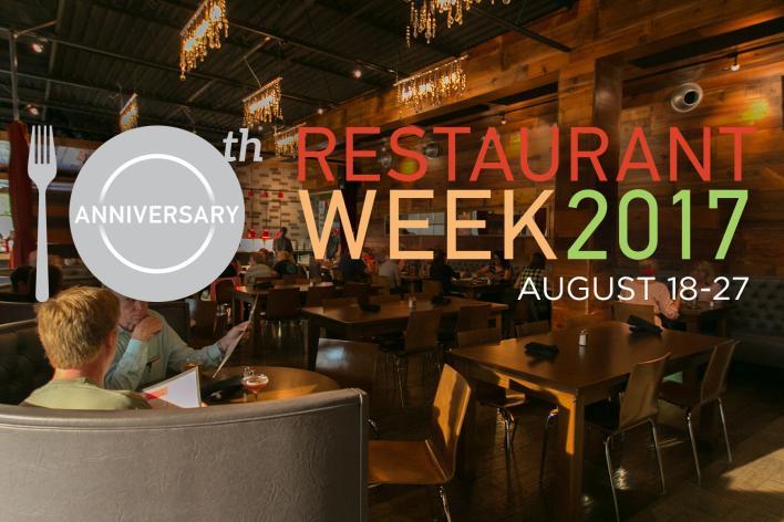 Des Moines Restaurant Week 2017