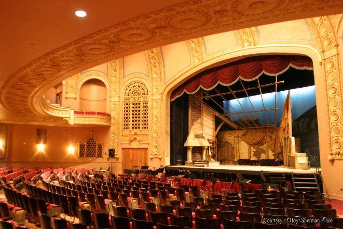 Theater Interior of the Hoyt Sherman Place