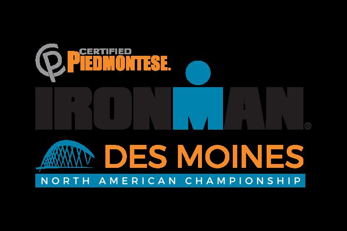 IRONMAN Des Moines Logo
