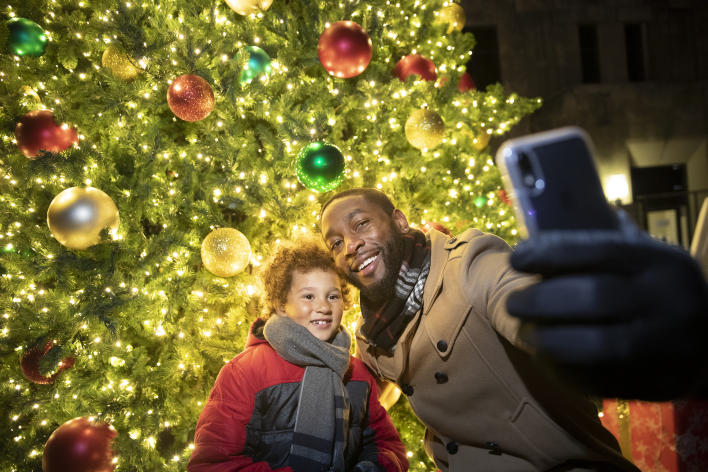 Catch Des Moines - Historic East Village Christmas Tree