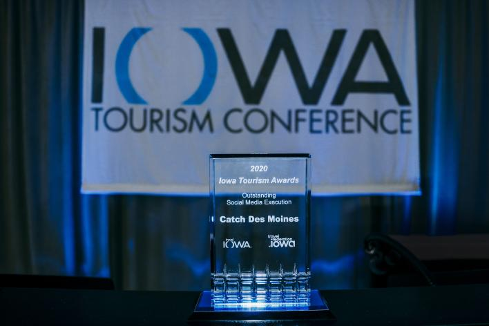 Catch Des Moines - 2020 Iowa Tourism Award