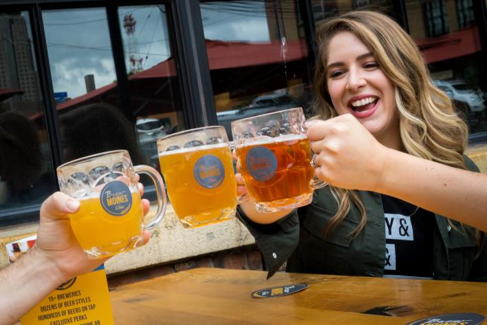 Catch Des Moines - Brew Moines