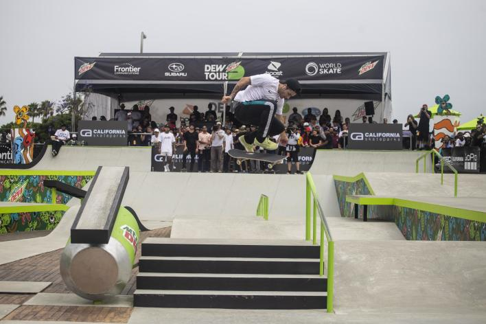 People Skateboarding During Dew Tour In Des Moines, IA