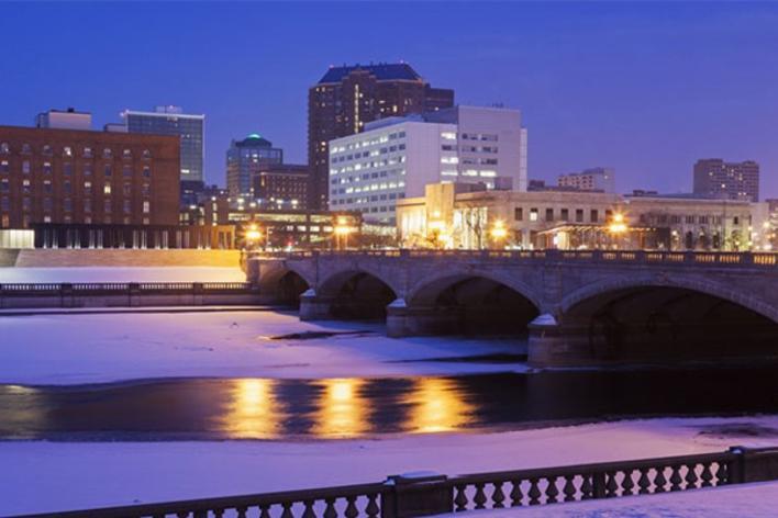 Downtown Bridge Winter
