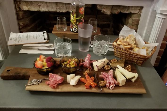 The Spot on Mill Street charcuterie tray