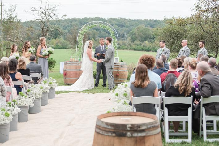Effingham Winery Wedding