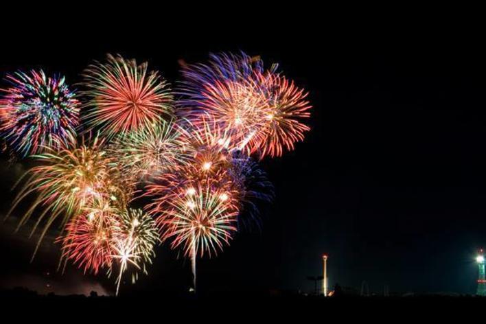 Fireworks at Quantico