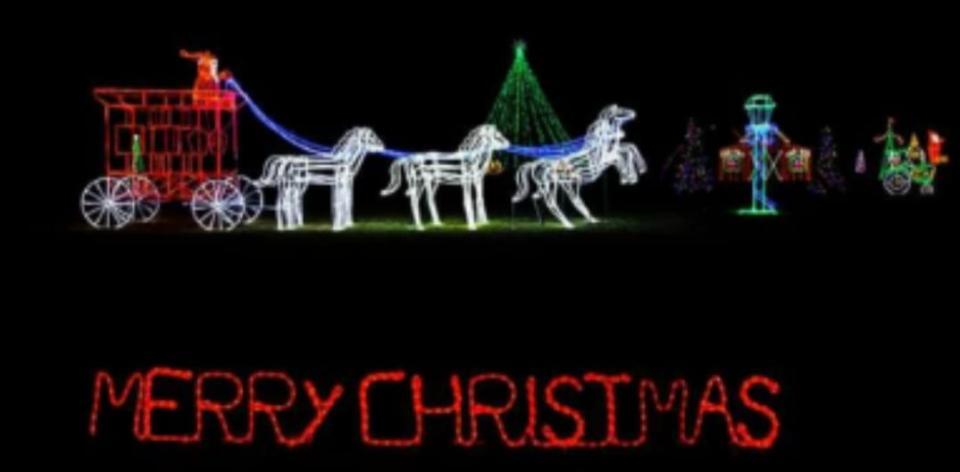 Christmas Lights on Tawakoni 2019